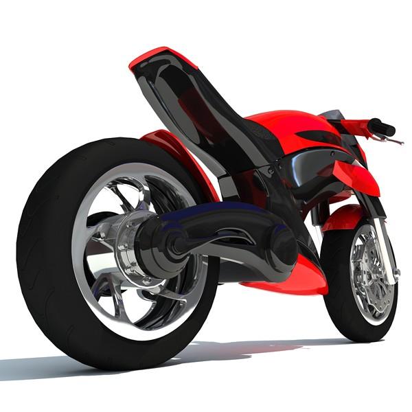 Biker clipart sportbike Model Sport Free 3D 3D