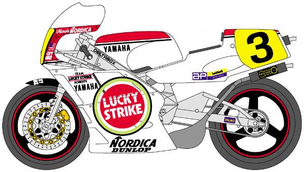 Yamaha clipart team yamaha #3 index Randy Mamola