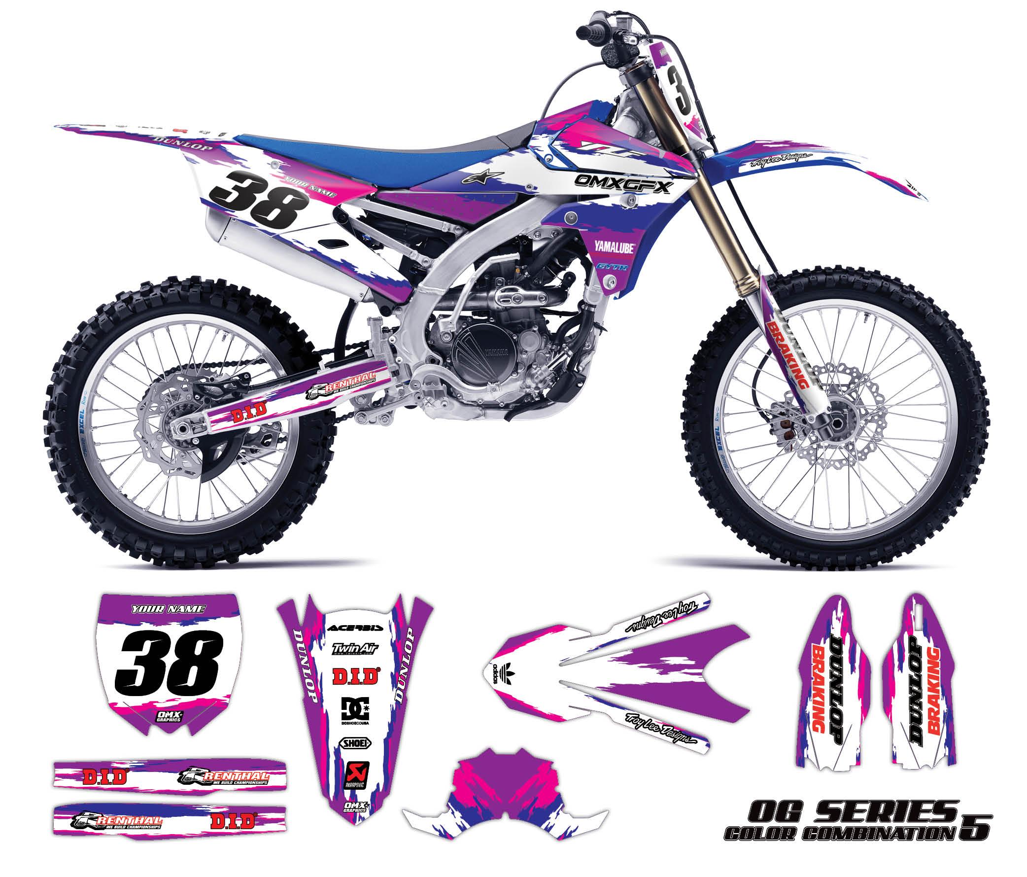Yamaha clipart yamalube OG Motocross color Choose Graphics