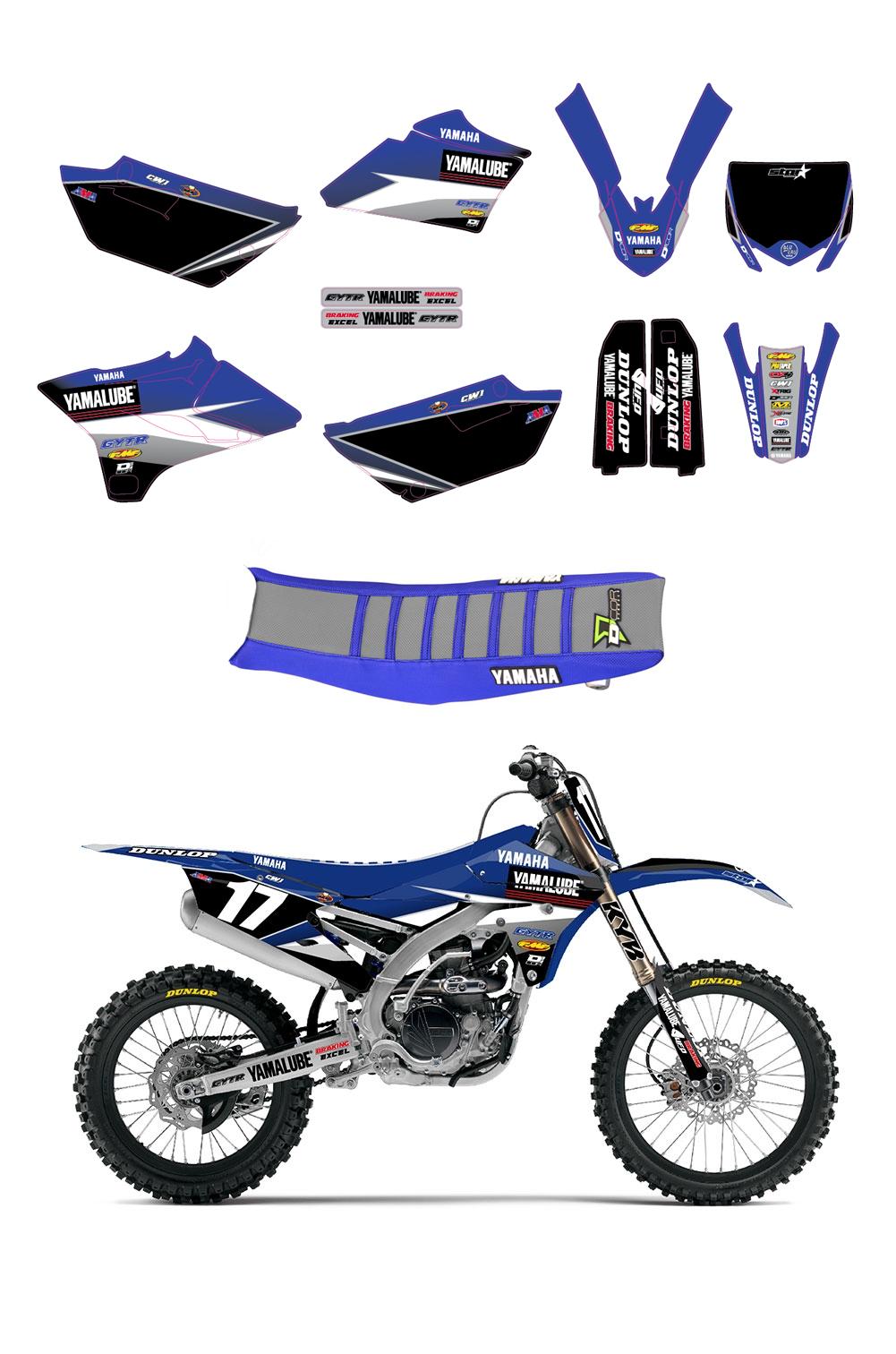 Yamaha clipart yamalube Kit Graphics Star KIT GRAPHICS