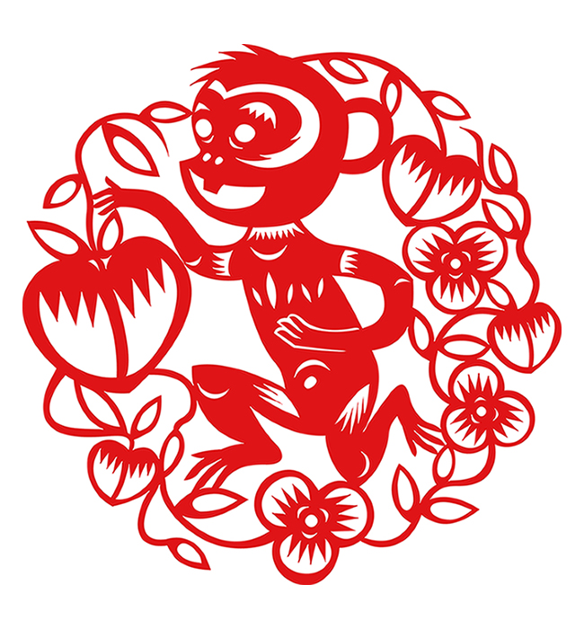 Year Of The Monkey clipart Year Fortune the Dragon of