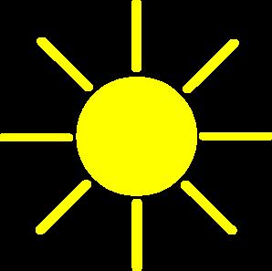 Yellow clipart #8