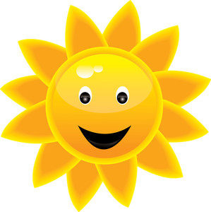 Bright clipart smiley face Clipart Clipart Panda Info sun