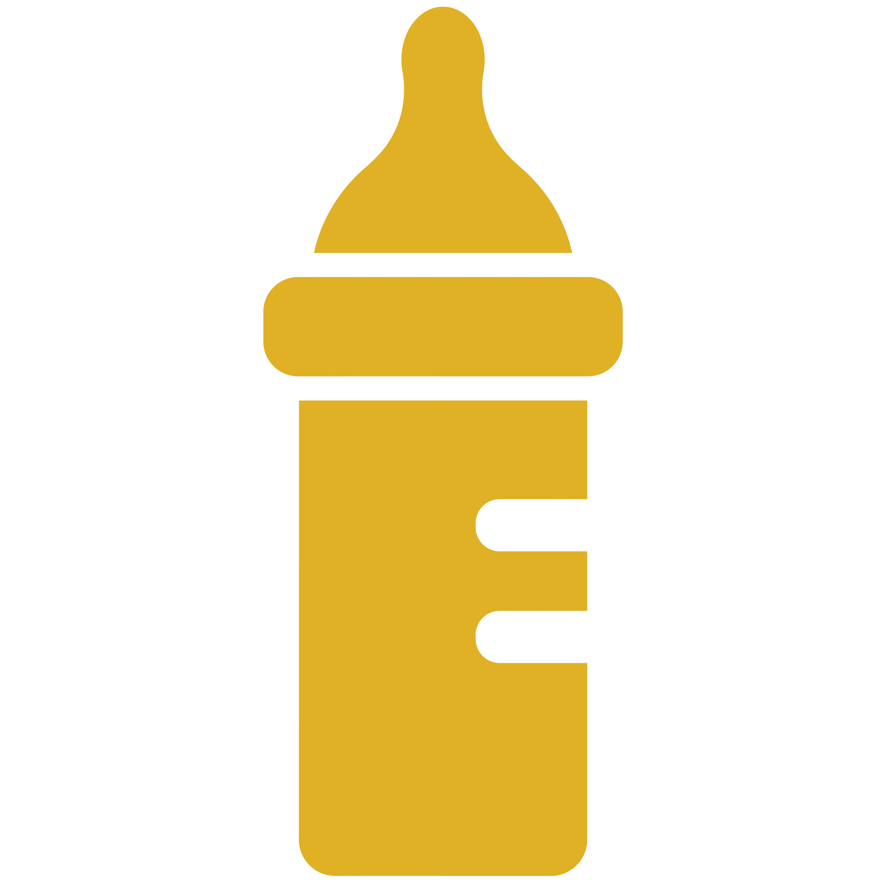 Yellow clipart baby bottle Equipment Home Baby 1