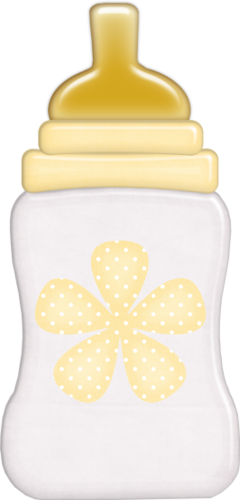 Yellow clipart baby bottle Clipart~Baby Pinterest Baby baby