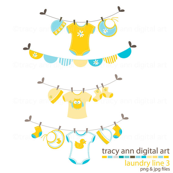 Yellow clipart baby clothes Baby Yellow Art Art Line