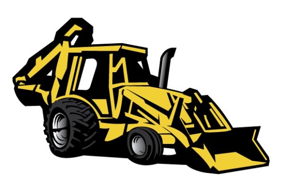 Yellow clipart backhoe Cliparts Cliparts Backhoe Backhoe Cute