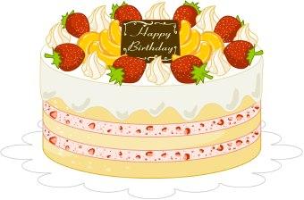 Yellow clipart birthday cake Download Cake Of Art Art