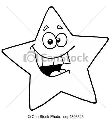 Yellow clipart black and white And Smiling White Clipart Smiling