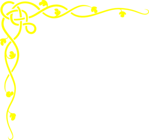 Yellow clipart boarder Online Clker Border Border Clip