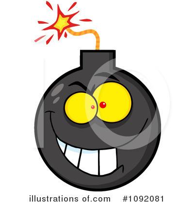 Yellow clipart bomb Clipart Illustration Hit Royalty #1092081