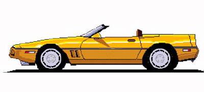 Yellow clipart corvette Corvette · vette86 · clipart