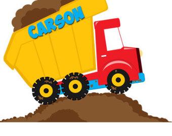 Cartoon clipart dump truck Clipart Construction Construction Art schliferaward