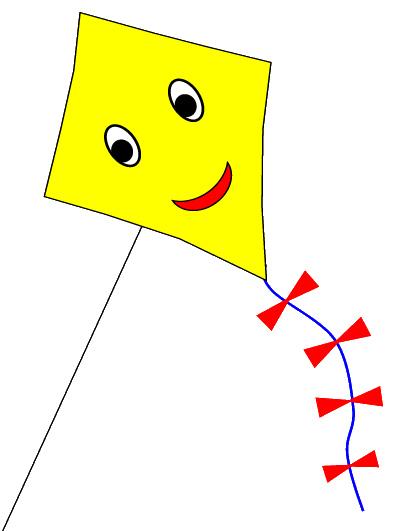Yellow clipart kite Kite Diamond clipart Clipart Diamond