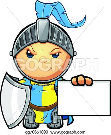 Yellow clipart knight A Vector knight EPS Clipart