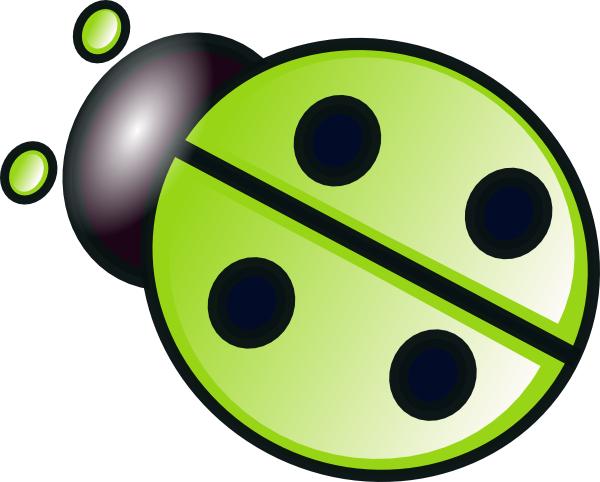 Yellow clipart ladybug Clip as:  vector Art