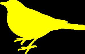 Yellow clipart love bird At Clip Clip Bird clip
