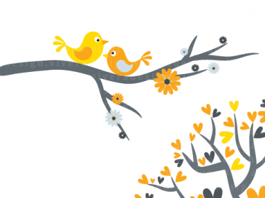 Yellow clipart love bird Art clip Images and Photos