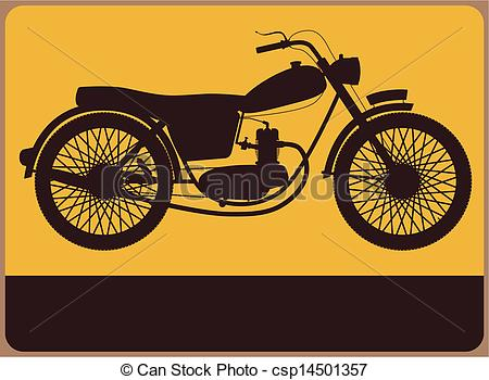 Yellow clipart motorbike Vector with Motorbike Motorbike Clipart