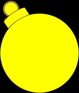 Yellow clipart ornament Clip Art at online vector