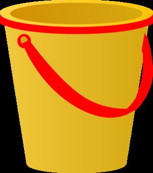 Yellow clipart pail (55+) Pail Pail Shovel And