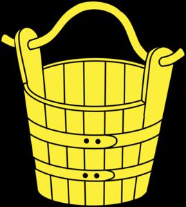 Yellow clipart pail Free Clip Bucket  Bucket