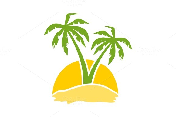 Palm Tree clipart yellow Clip Clip Download Free With