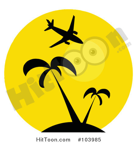 Yellow clipart palm tree Palm 64 tree clip #107