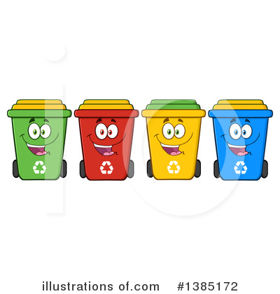 Yellow clipart recycle bin Recycle Recycle by Illustration #1385172