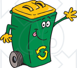 Yellow clipart recycle bin Yellow guthealth top Your Bin