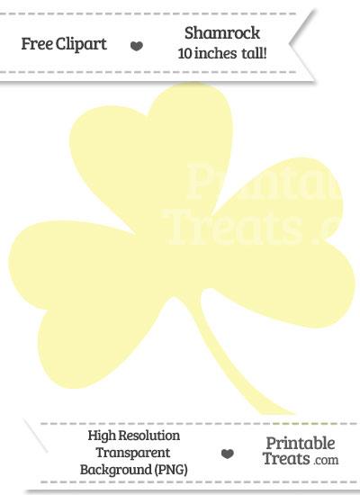 Yellow clipart shamrock From com Printable Treats PrintableTreats
