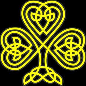 Yellow clipart shamrock Online  com art Gold