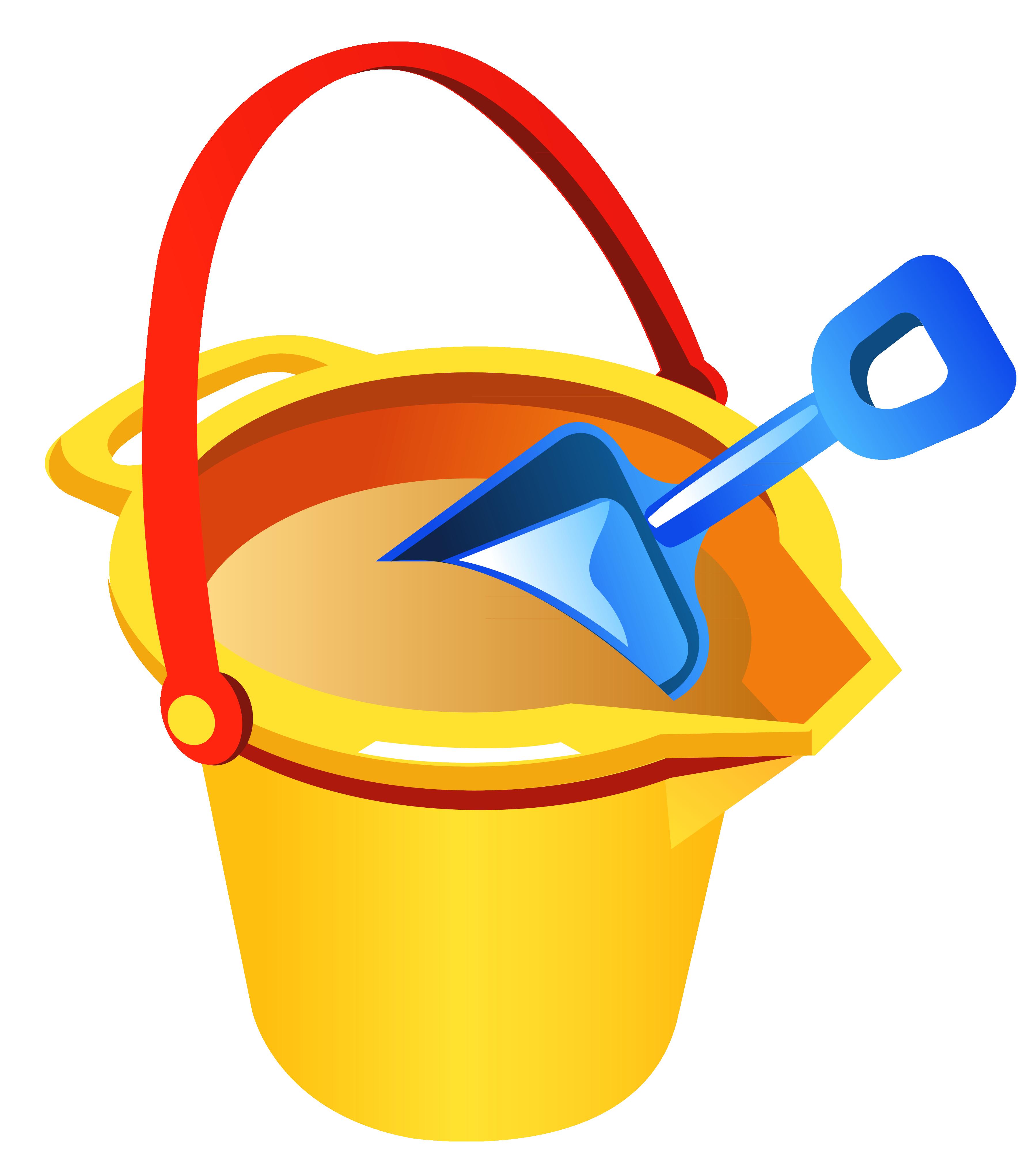 Beach clipart shovel And Bucket Fullsize PNG Clipart