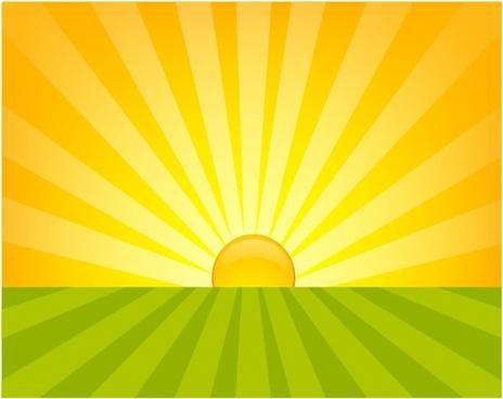 Yellow clipart sunrise Download Silhouette Clip Art Clip