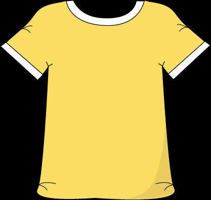 Yellow clipart t shirt 62 Shirt Fans Clipart Clipart