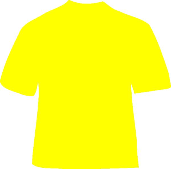 Yellow clipart t shirt Shirt Art com vector art