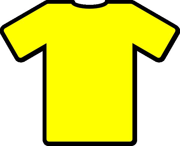 Yellow clipart t shirt Tshirt Art com vector art