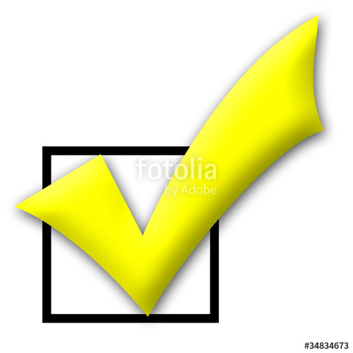 Yellow clipart tick Tick and  royalty on