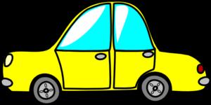 Yellow clipart toy car Car clip vector art online
