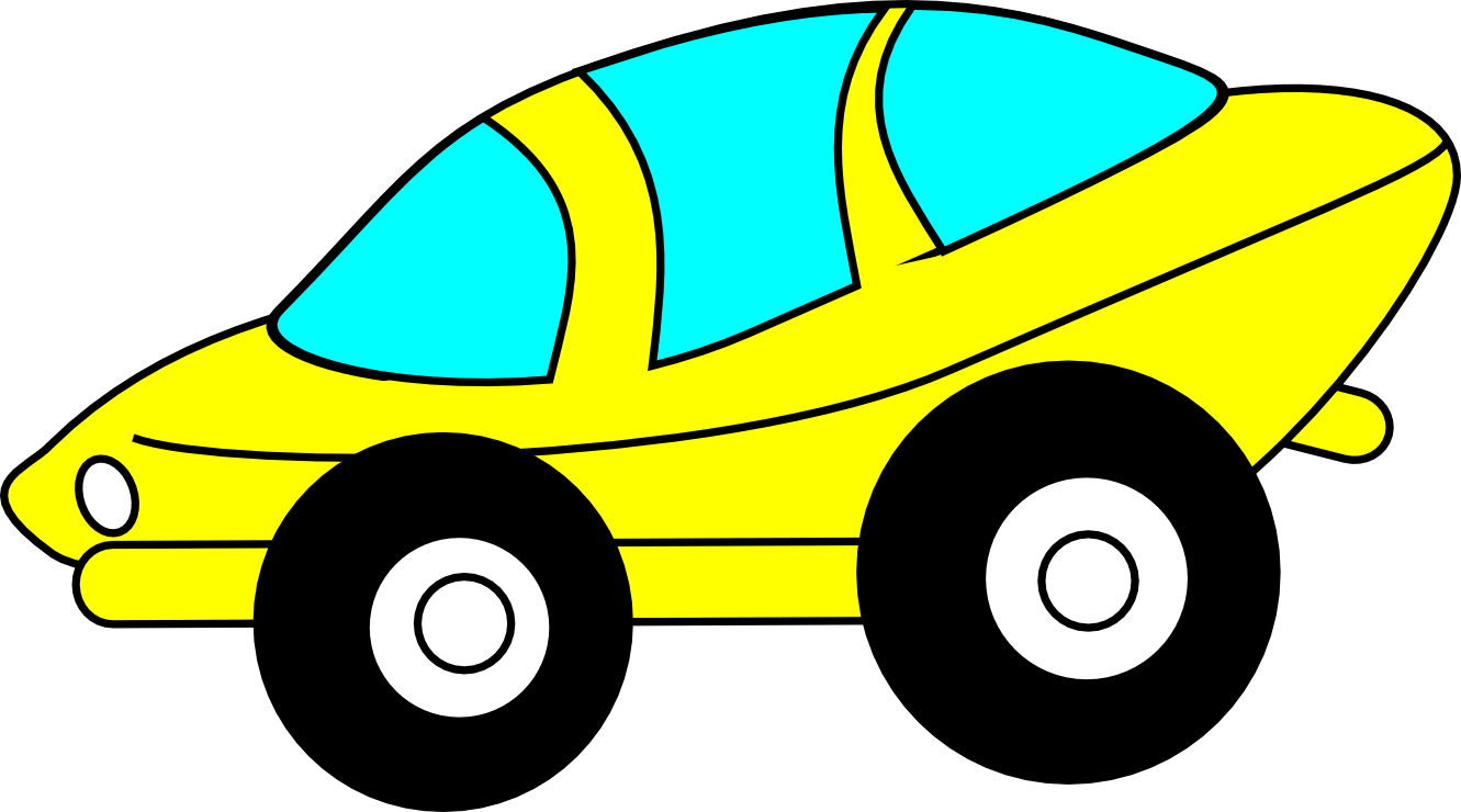 Yellow clipart toy car Art Car Car Clip –