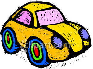 Yellow clipart toy car Car Panda Free Clipart Toy