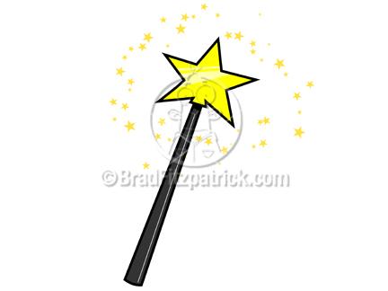 Yellow clipart wand Clipart  Graphics Magic Cartoon