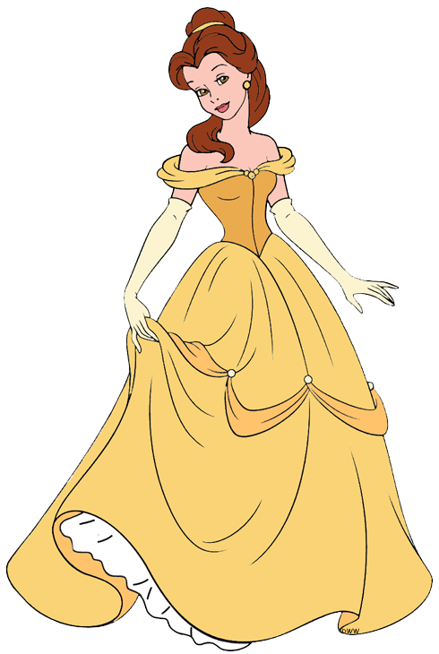 Yellow Dress clipart clothes Clip Belle  Galore Disney