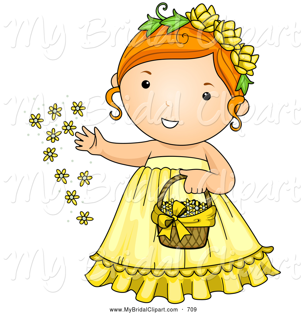Gown clipart cute dress Clipart a Yellow  a