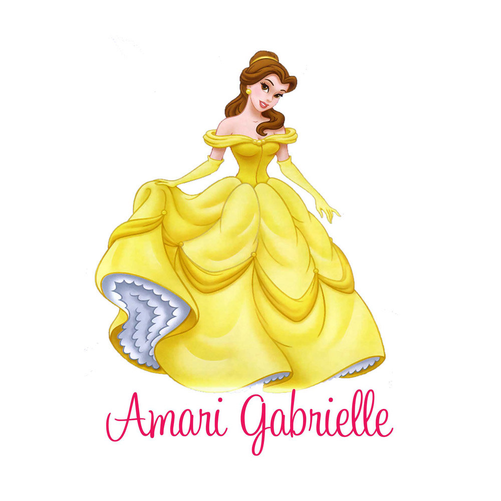 Yellow Dress clipart beauty and the beast belle Beast Beauty the Girls Princess