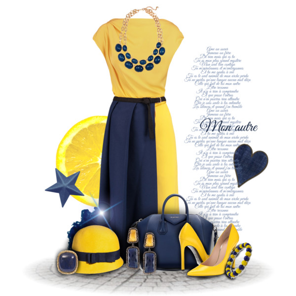 Blue Dress clipart yellow dress Leather pleated A from shoes