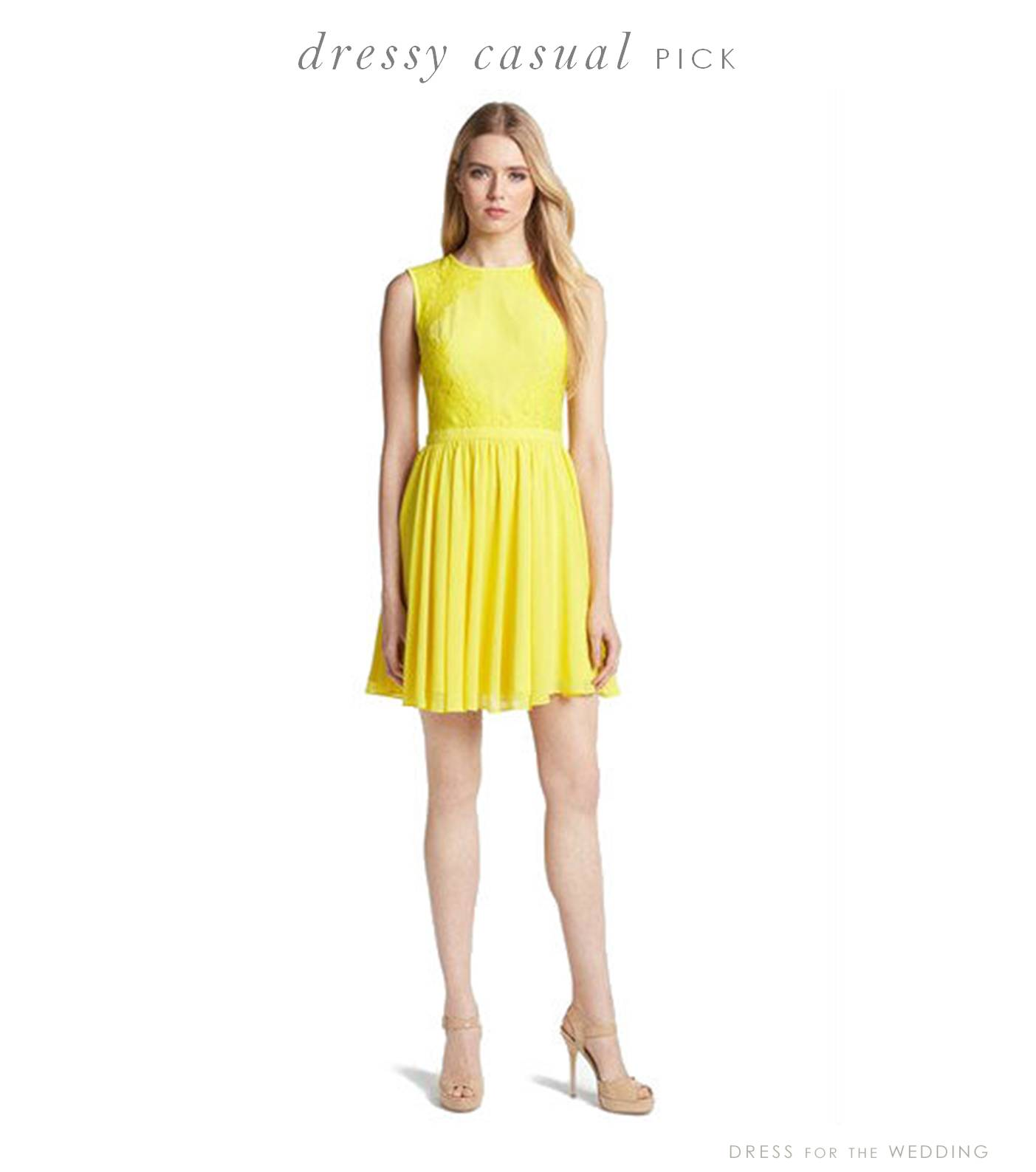 Yellow Dress clipart casual dress Casual the Dress for Archives