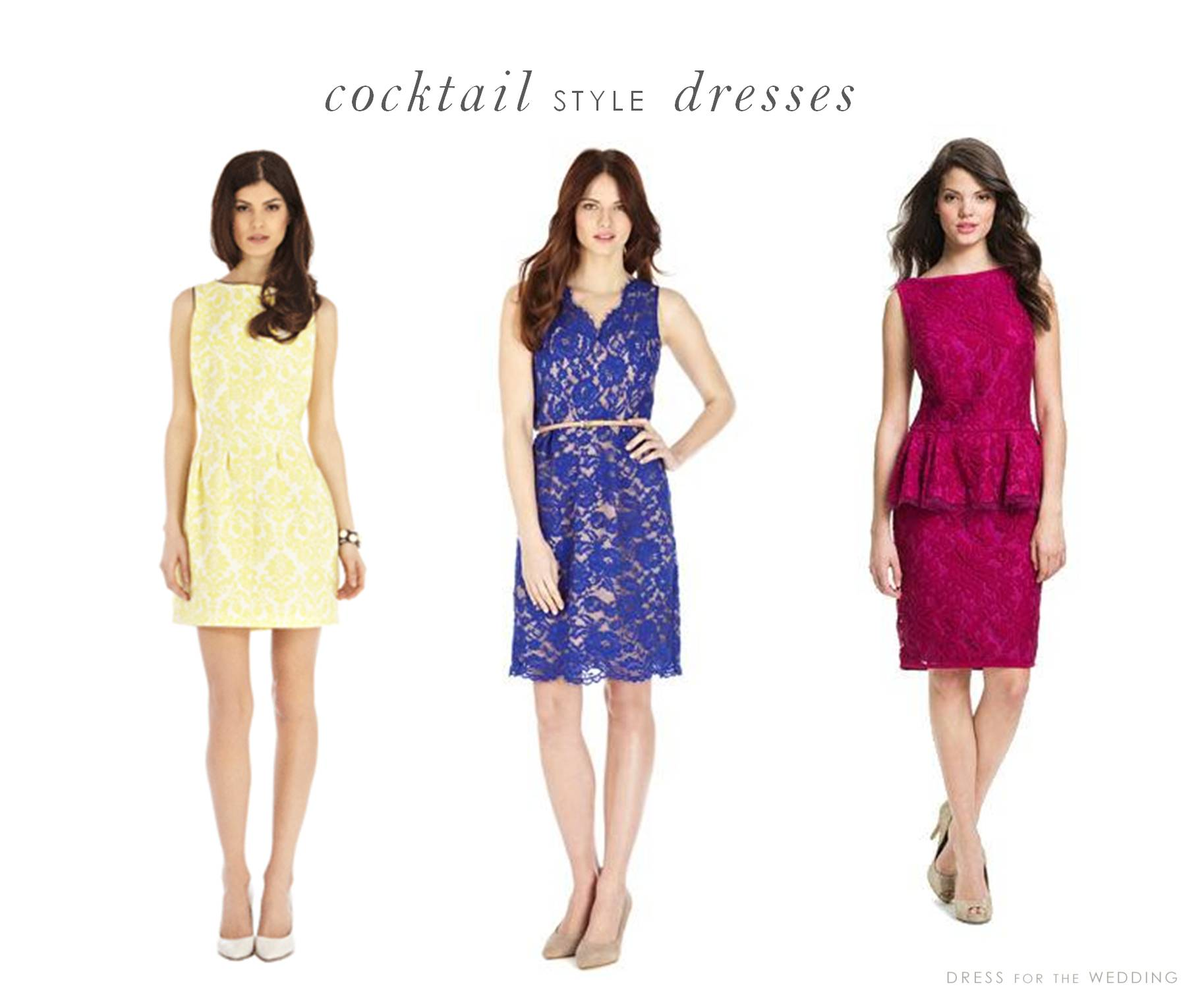 Yellow Dress clipart casual dress Guest wedding of Daytime dresses