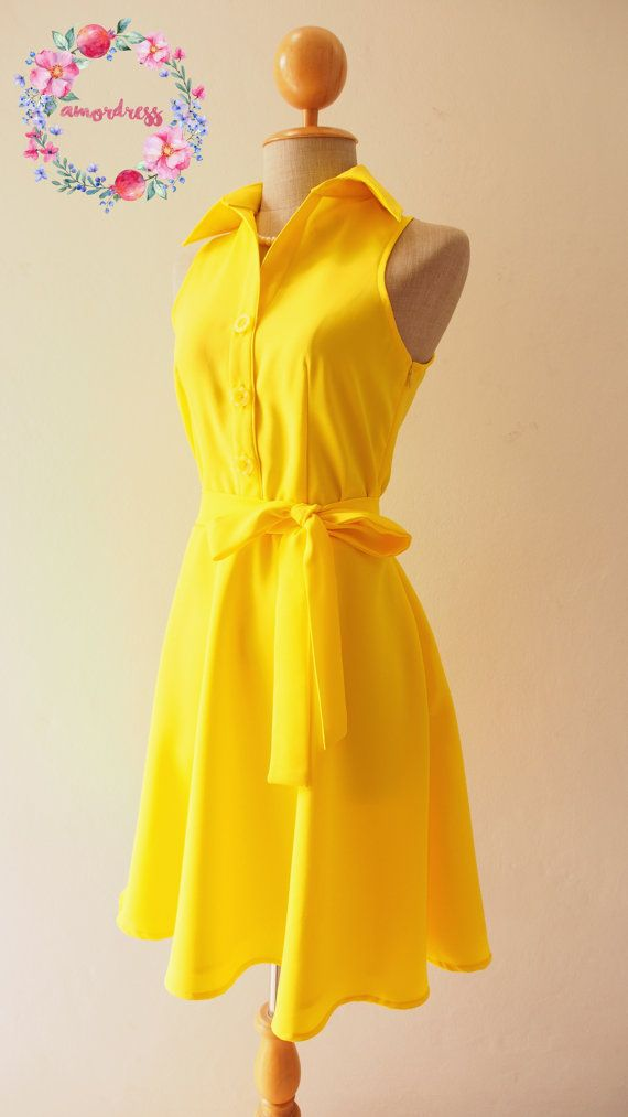 Yellow Dress clipart casual dress By Yellow 25+ dresses best