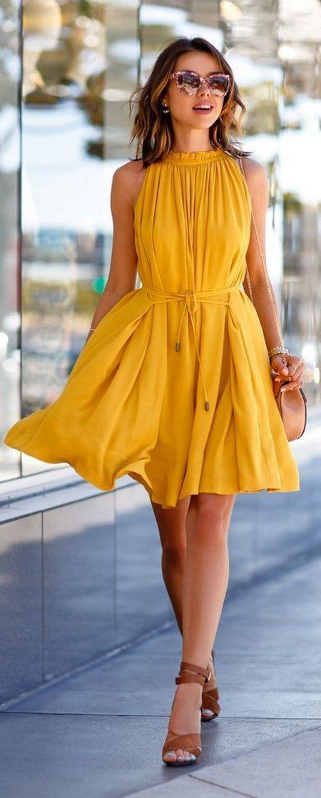 Yellow Dress clipart casual dress Sure Yellow Best guest 25+